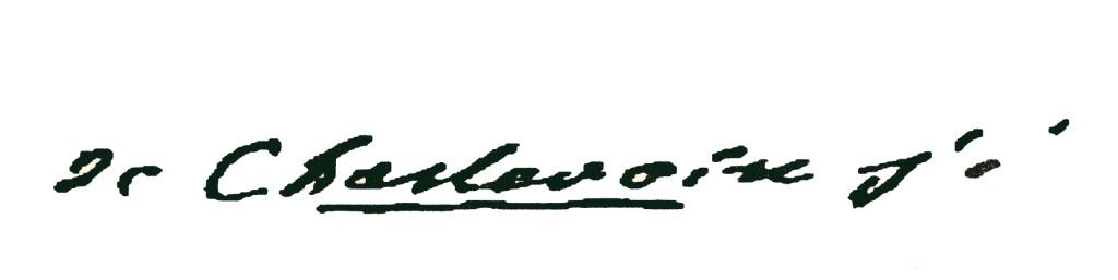 Signature - Pierre-François-Xavier de Charlevoix